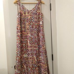 Philosophy Printed Woven Dress.